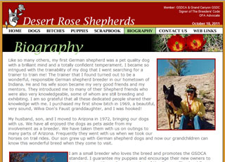 Desert Rose Shepherds